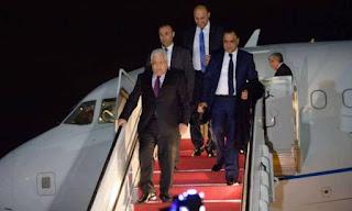 عباس يصل نيويورك للمشاركة في أعمال الجمعية العامة