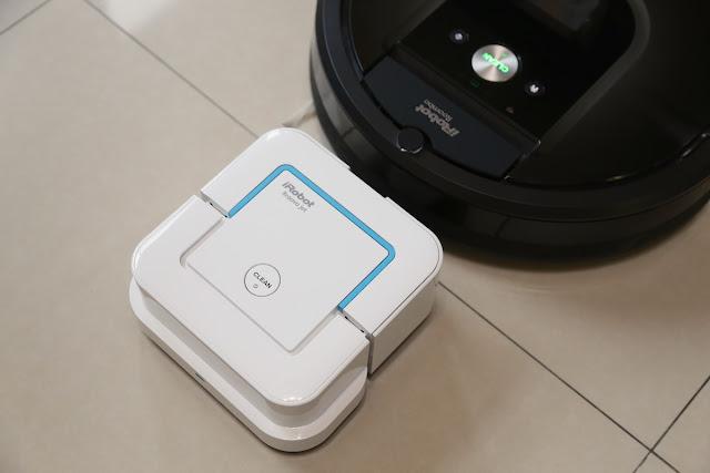 iRobot Braava Jet 240 擦地機器人:乾濕擦拖一機三用,iRobot 掃地搭配好夥伴