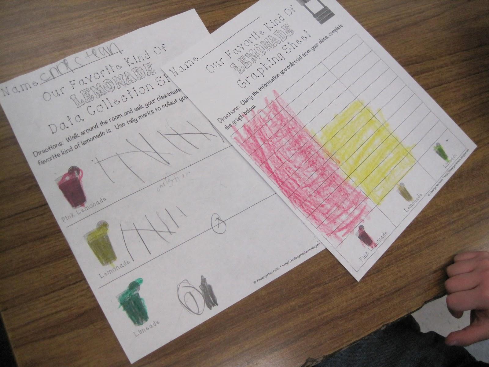 Pink Lemonade Color Worksheet