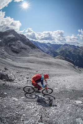 MTB - Mountainbike Tour Payerhütte 3029 m.üA. beim Ortler Vinschgau