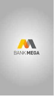 Tampilan awal Mega Credit Card Mobile