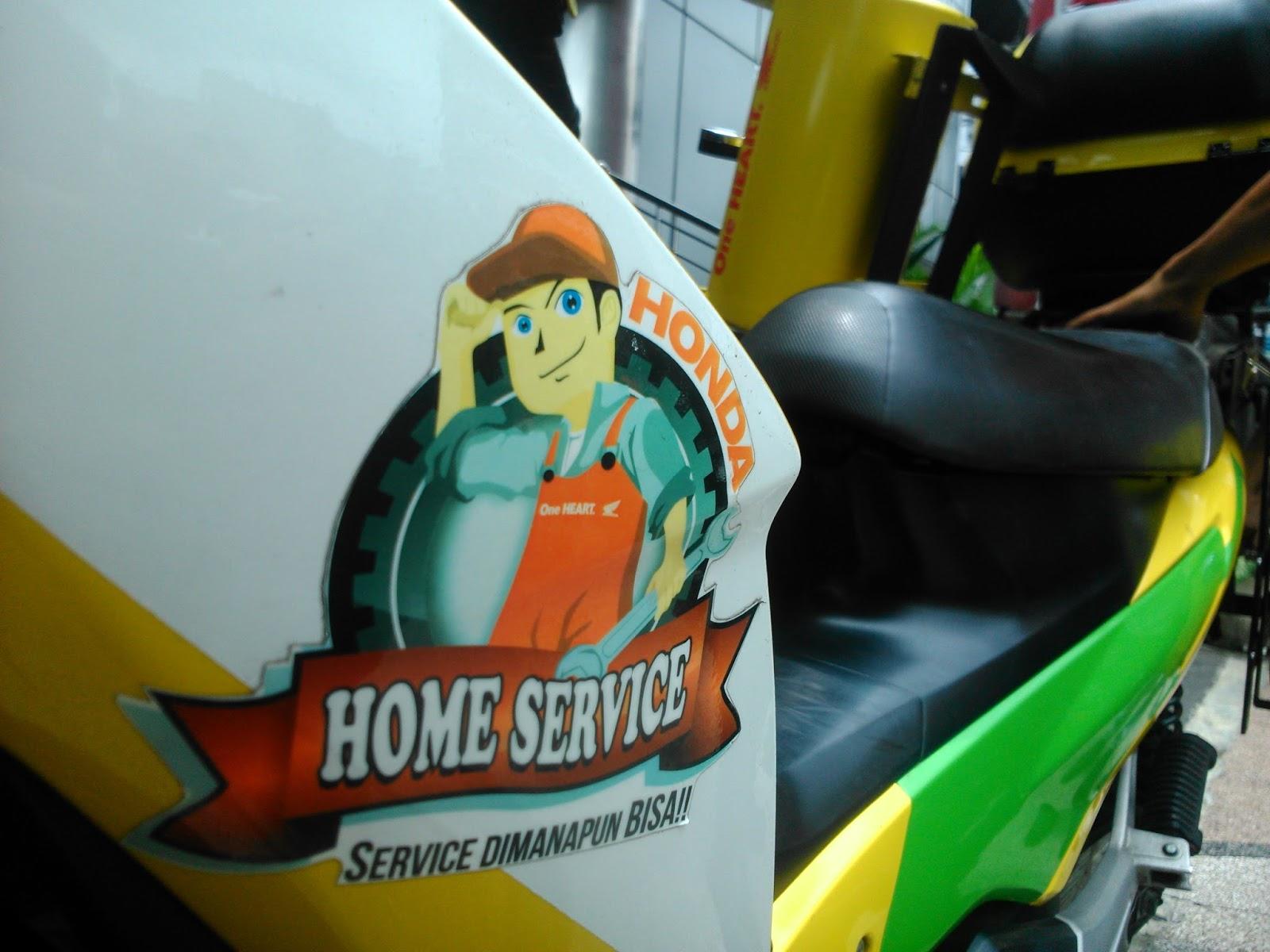 Yuk Gunakan Honda Home Service