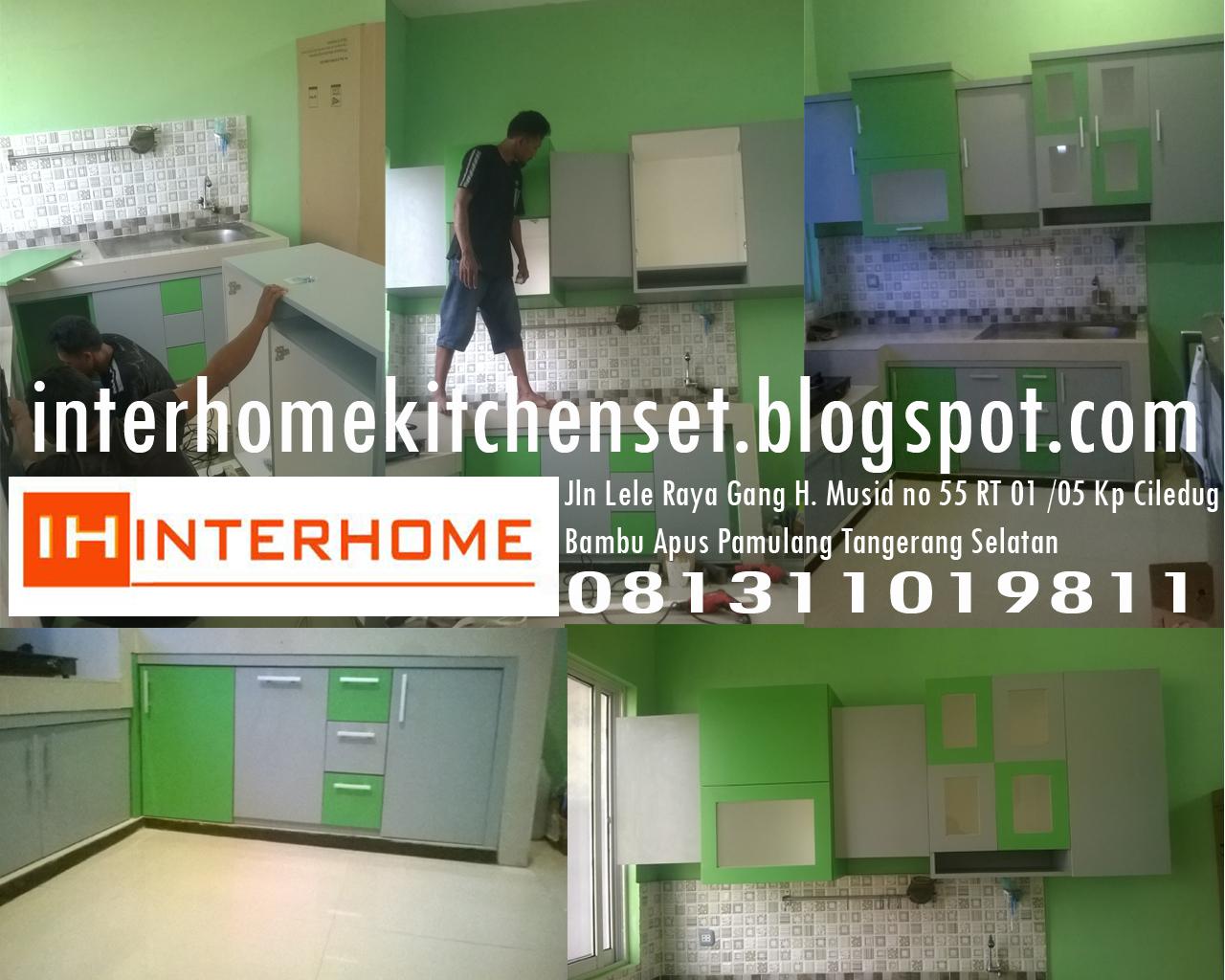 InterHome | Kitchen Set Murah | Gading Serpong | BSD