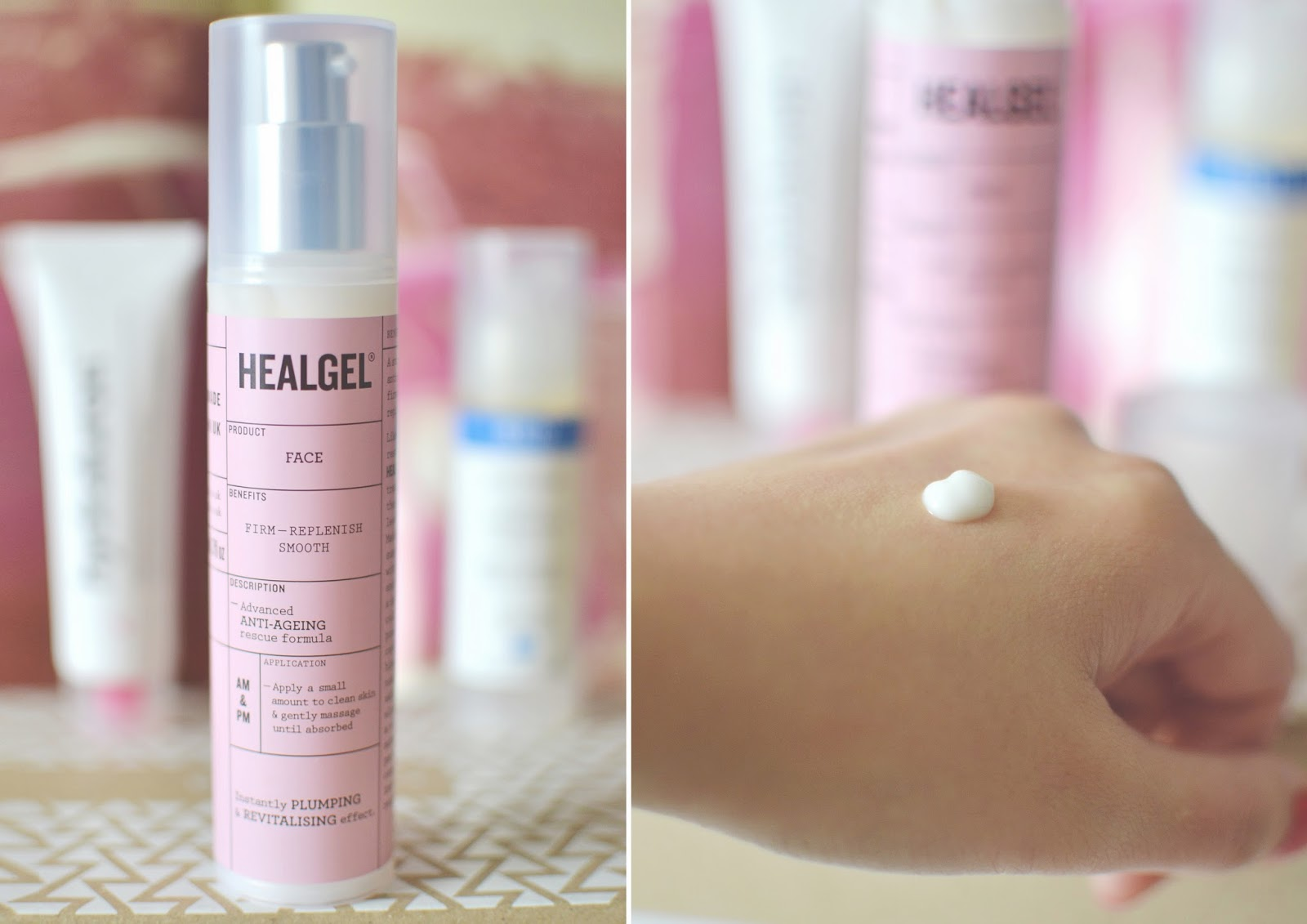 heal gel face review