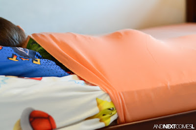 How to make a stretchy lycra bedsheet for kids