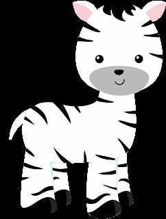 Clipart de Animales de la Selva Bebés.