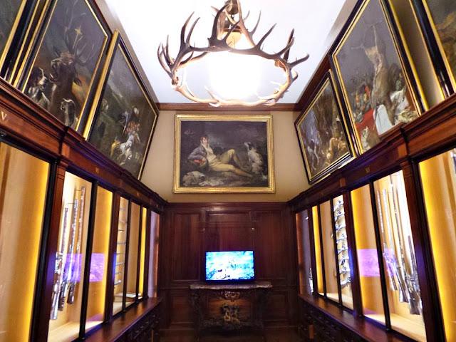 Musée de la chasse et de la nature musée paris exposition chasse animaux sauvages nature hôtel particulier art tableaux sculptures