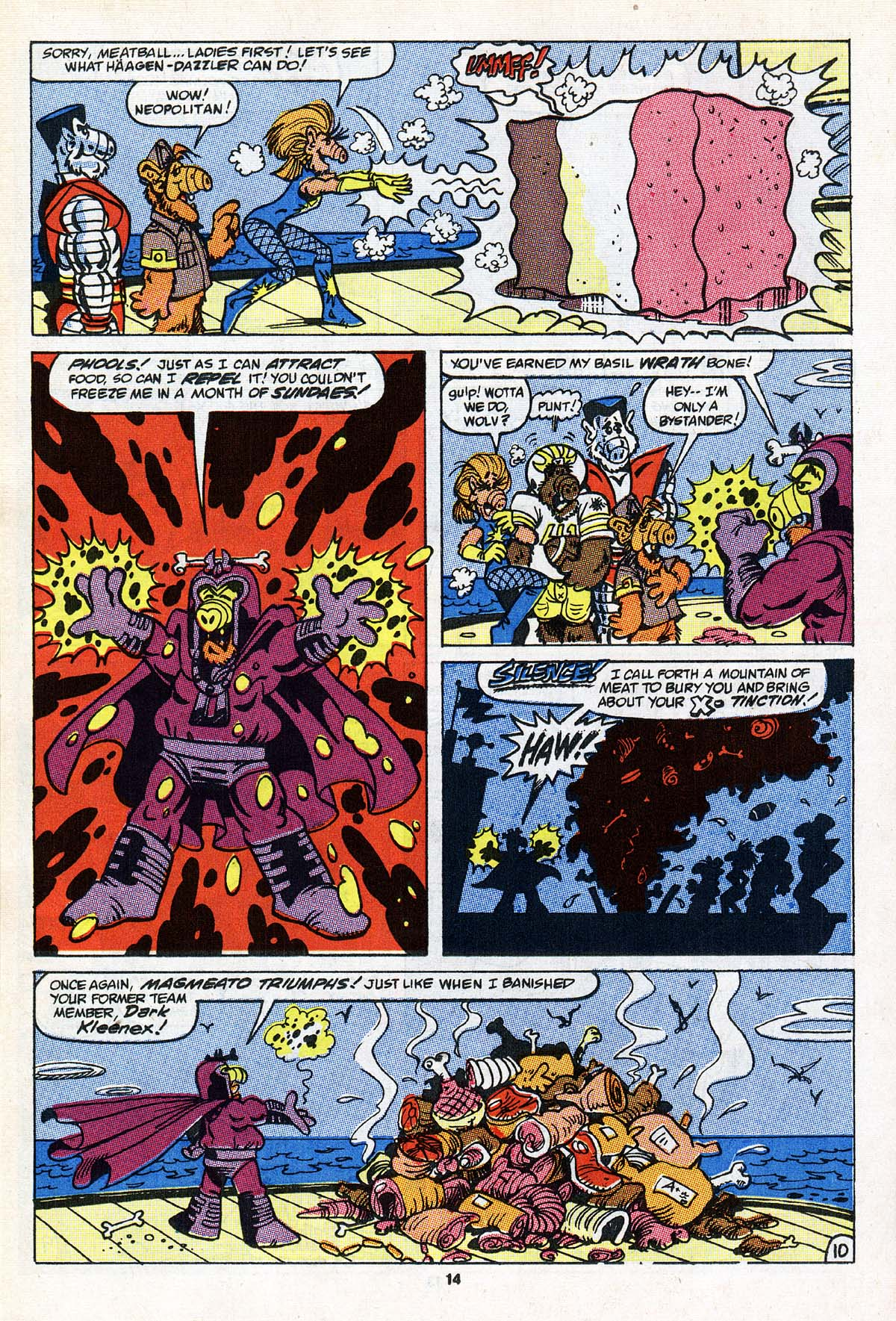 Read online ALF comic -  Issue #22 - 11