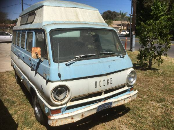 1968 Dodge A108 Campervan Project