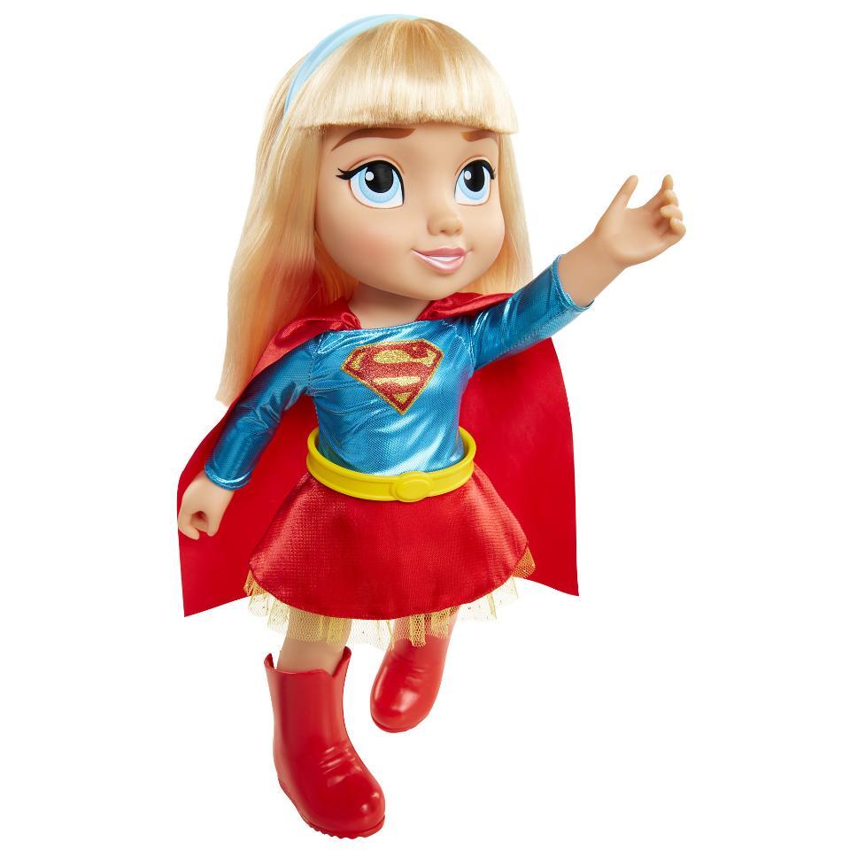 Dc Super Hero Girls Toddler Dolls Wonder Woman And Super -4739