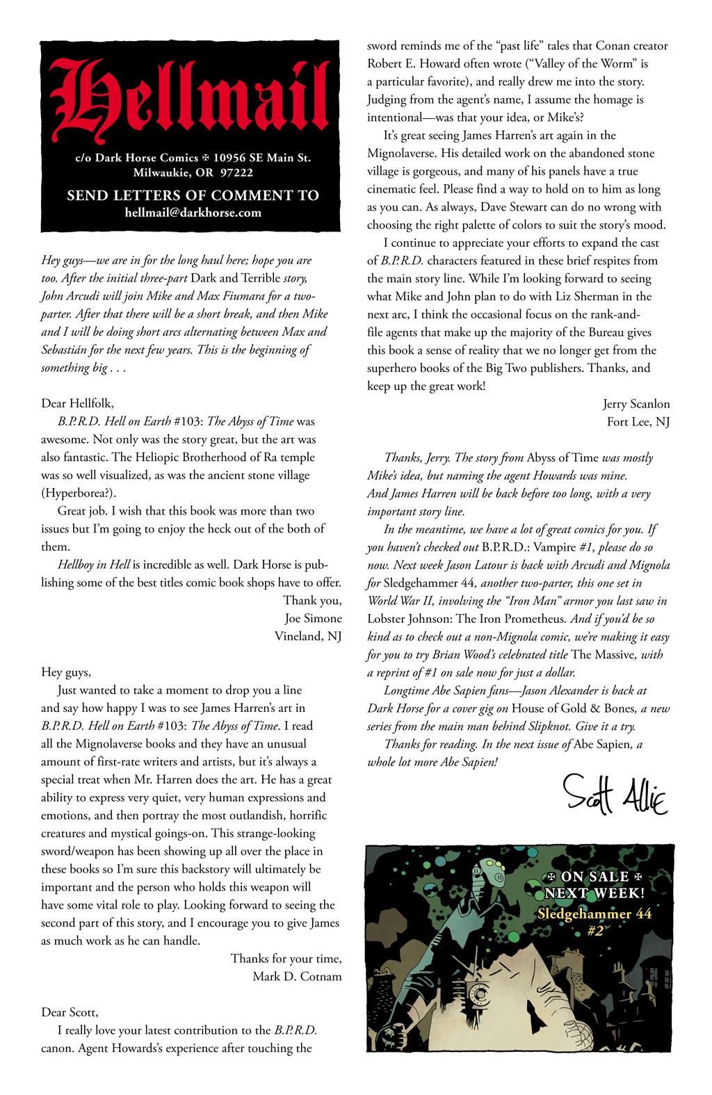 Read online Abe Sapien comic -  Issue #1 - 25