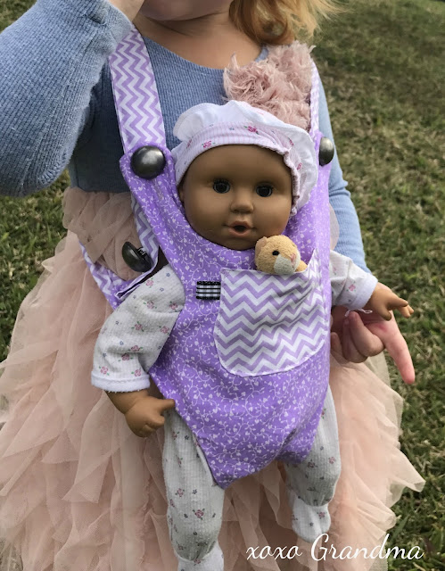 Darling Baby Doll Carrier