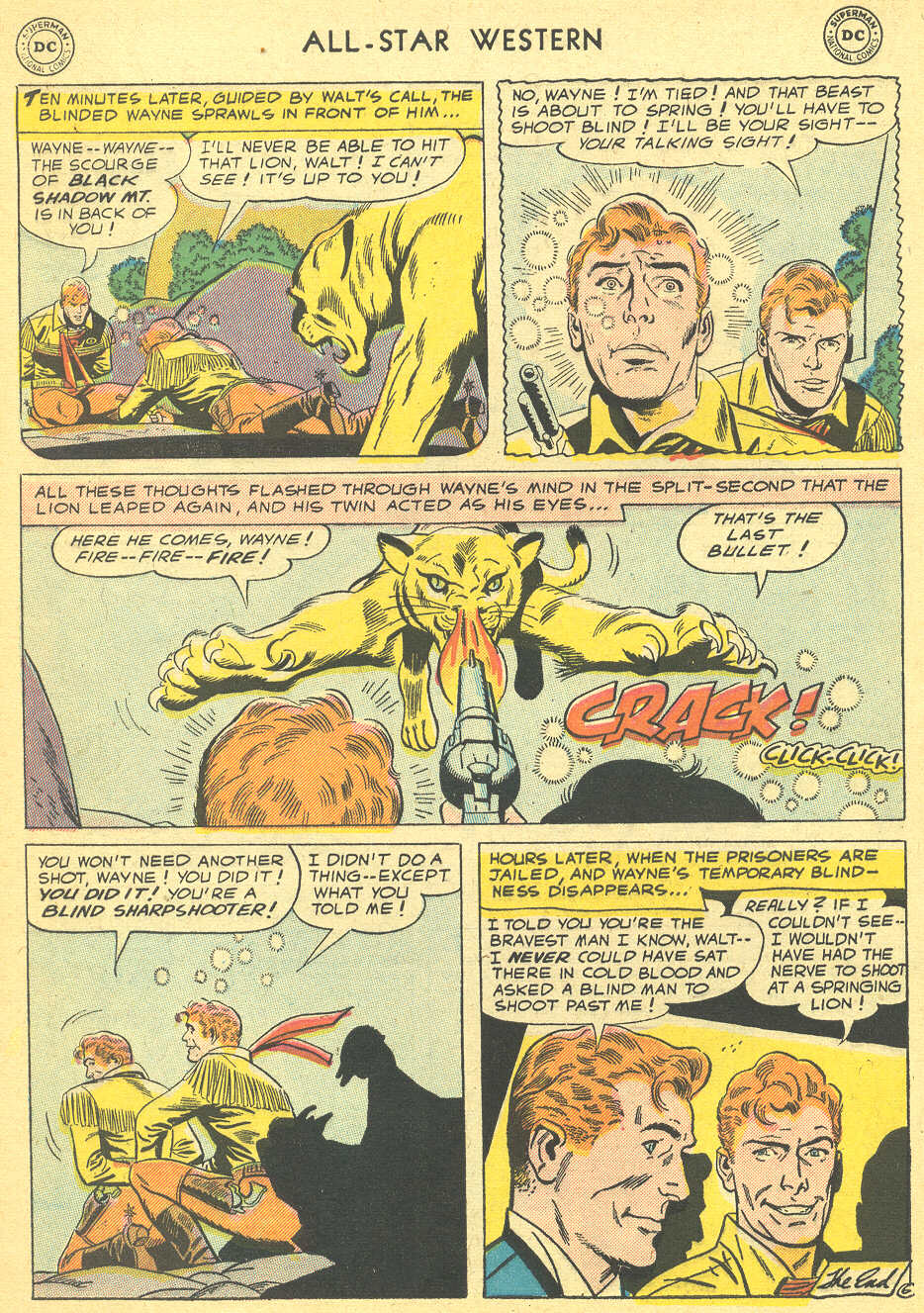 Read online All-Star Western (1951) comic -  Issue #92 - 8