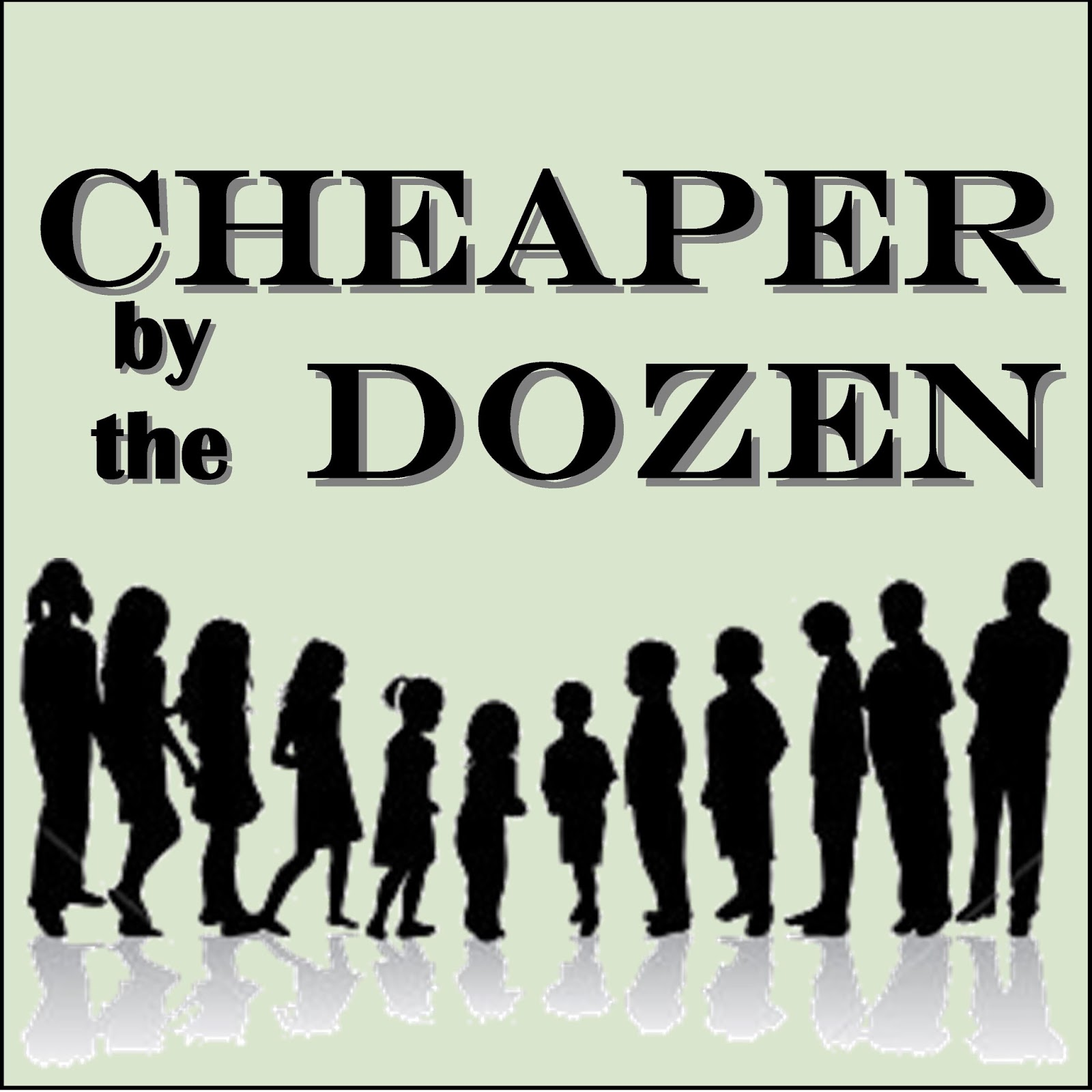 cheaper by the dozen play review When i was a child i read cheaper by the dozen the way i read all my favorite   to discuss important decisions, playing french language records while the kids.