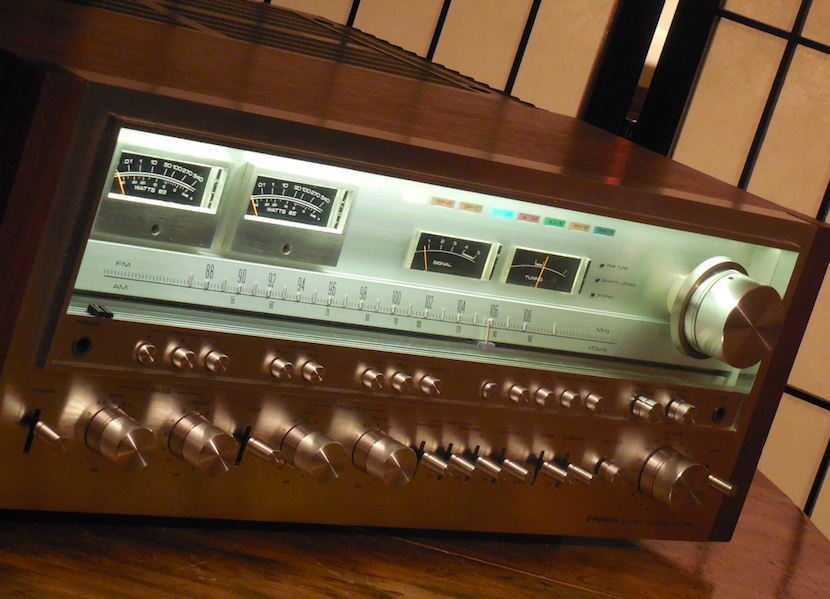 vintage hi fi audio restorations greg 39 s pioneer sx 1980. Black Bedroom Furniture Sets. Home Design Ideas
