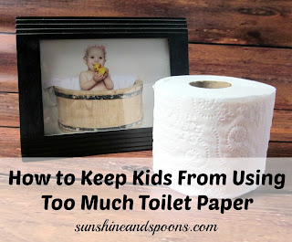 How to Keep Kids From Using Too Much Toilet Paper