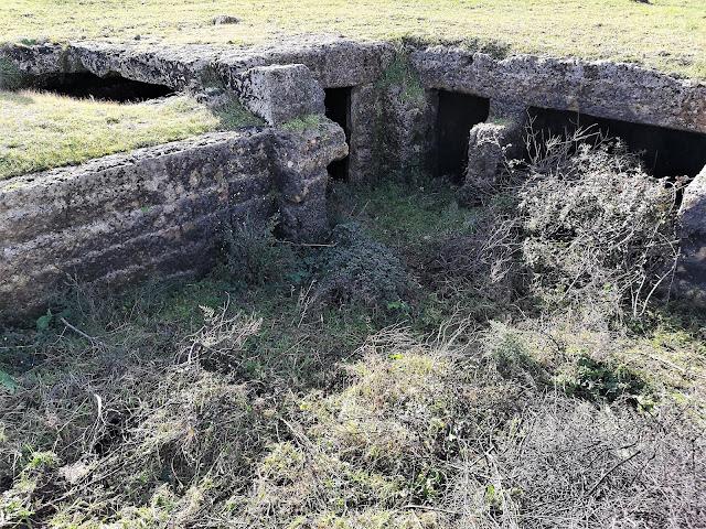 Masseria ipogea Fanelli vecchia situata a 400 metri dalla cripta