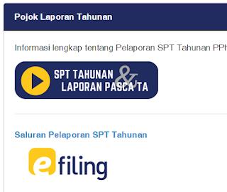 Lupa EFIN Pajak SPT Online