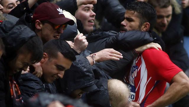 La drôle de première de Diego Costa au Wanda Metropolitano