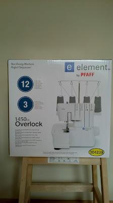 pfaff element 1450 оверлог от lIdl