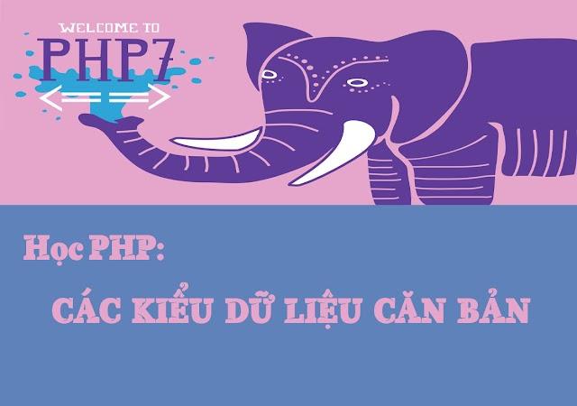 Bài 5: Các kiểu dữ liệu chuẩn trong PHP