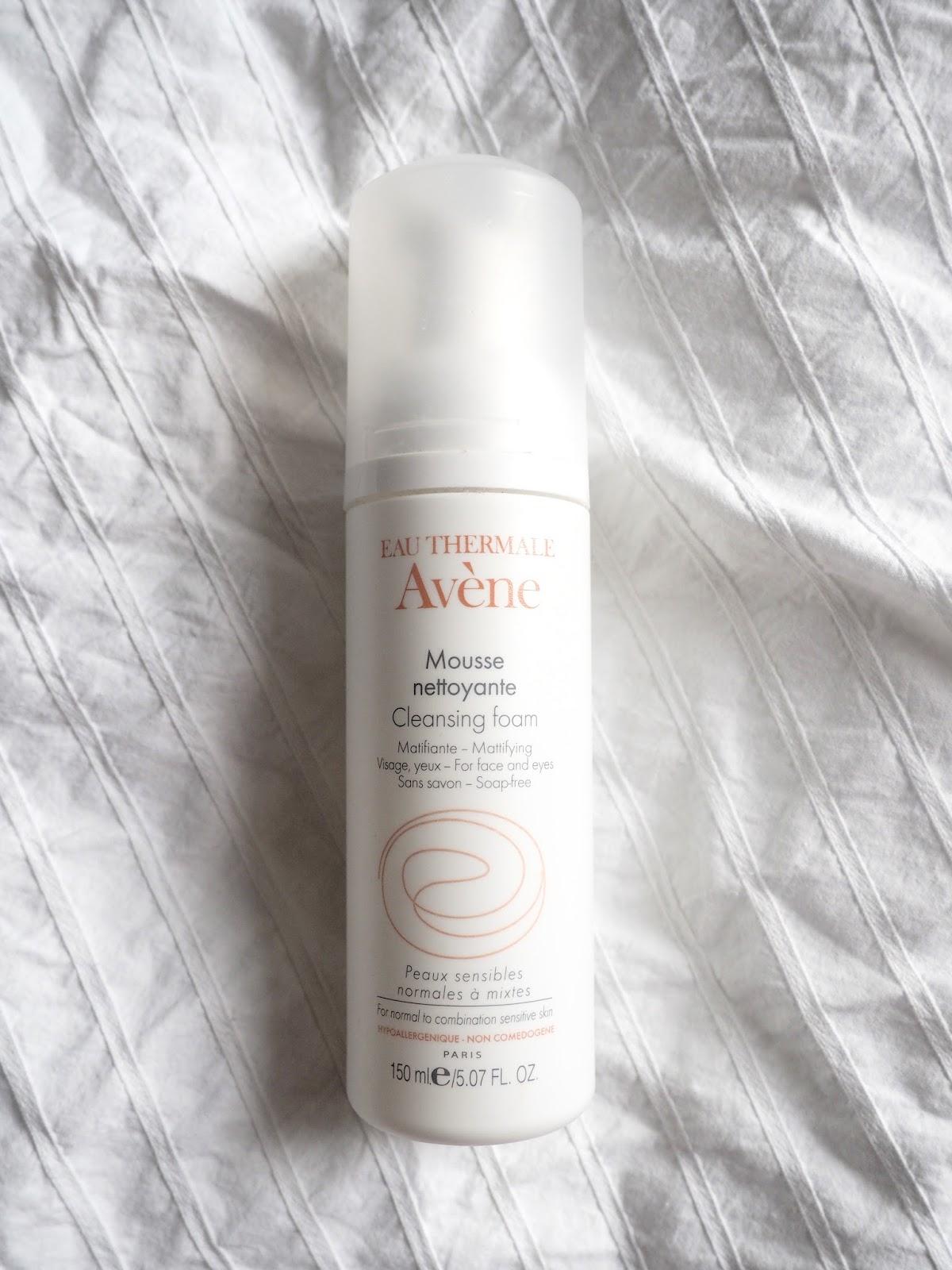 Avene cleansing foam review