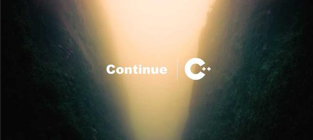 Pengertian dan Contoh Pernyataan Continue C++ -  Belajar C++