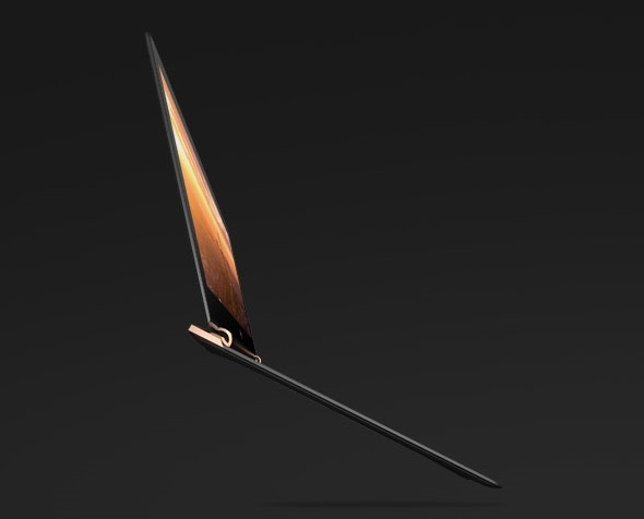 HP launches Spectre 13, the world's thinnest laptop