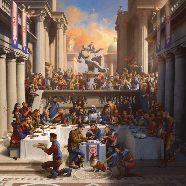 Logic - Everybody (Deluxe) Cover