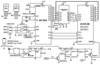 Atmel microcontroller-Easy Downloader Circuit