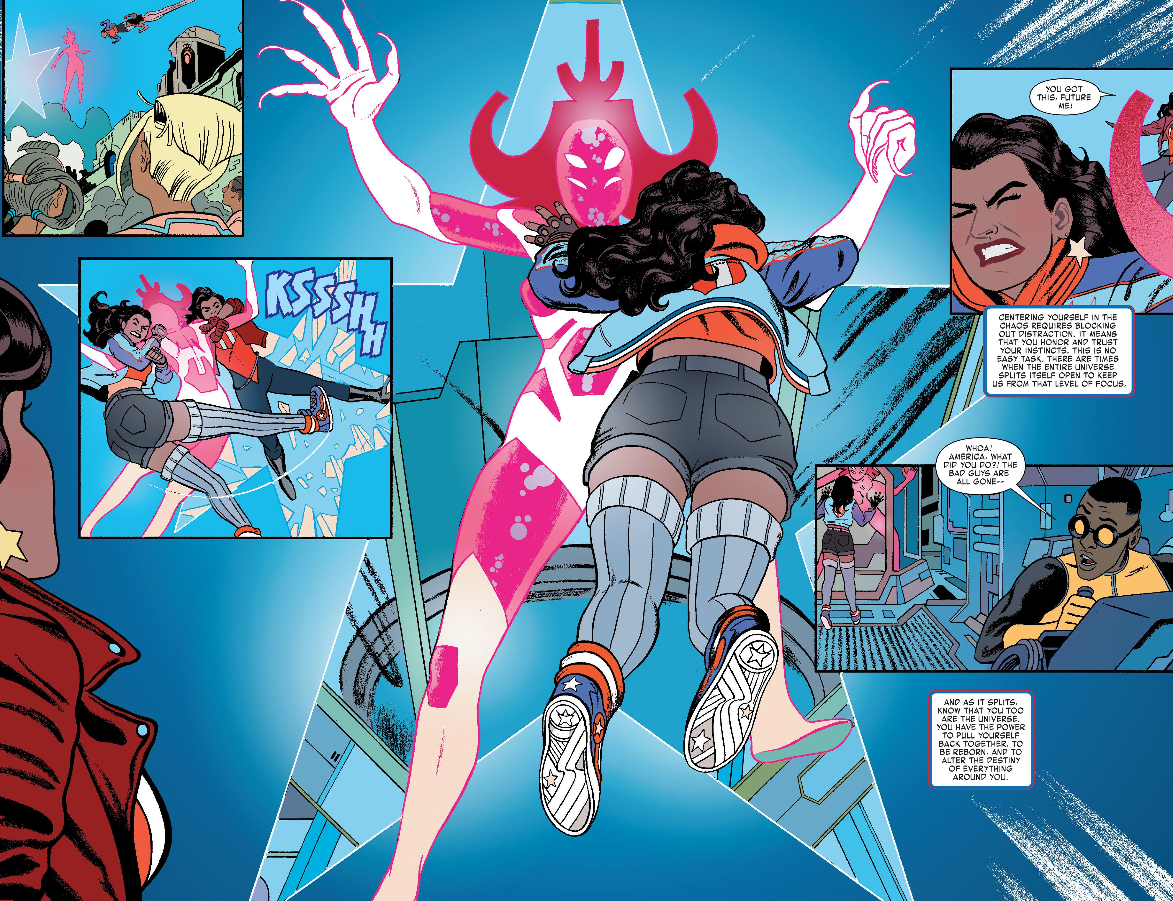 Read online America (2016) comic -  Issue #4 - 12