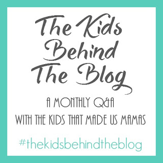 The Kids Behind The Blog button