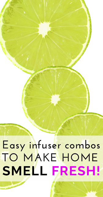 Nothing beats a fresh smelling home! Learn here how to make your own fresh and bright all-natural infusers in minutes to make your place a great smelling one to come home to! The Health-Minded.com #home #health