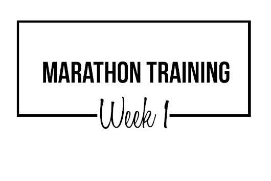 Marathon Training Week 1: Why, Again, Did I Sign Up For This?