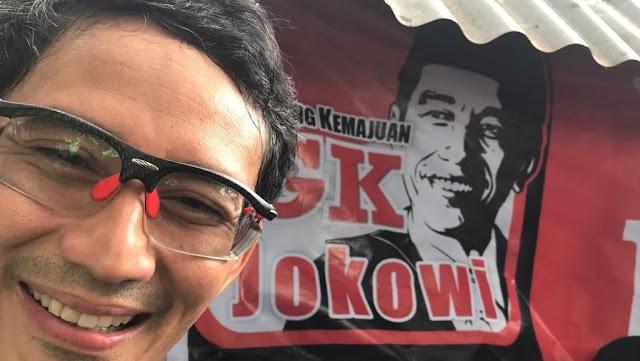 Sandi Sebut Program Infrastruktur Jokowi Tak Tepat