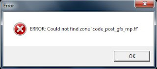 ERROR: Could not find zone 'code_pre_gfx_mp.ff'