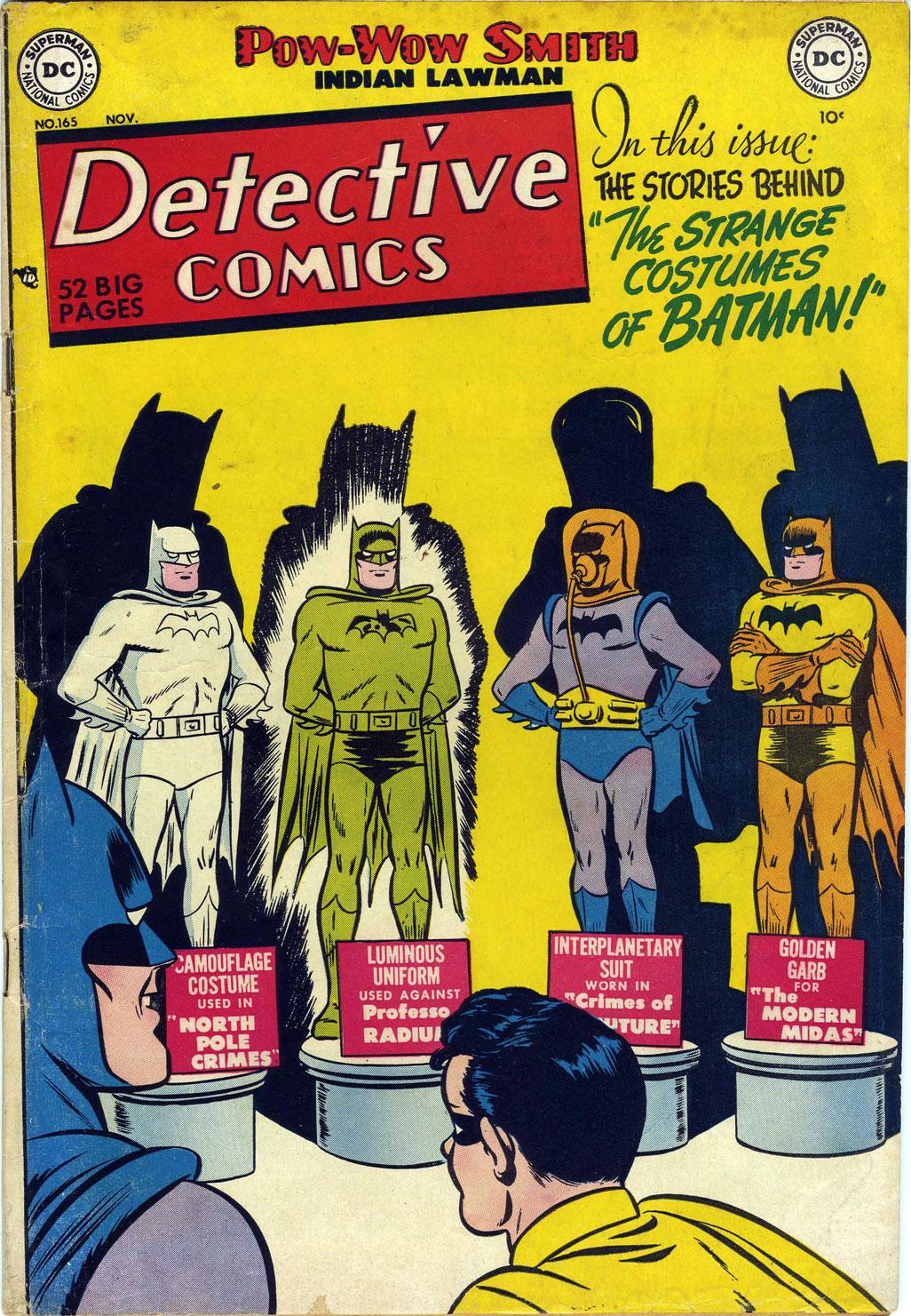 Detective Comics (1937) 165 Page 0