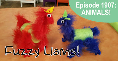 Hands On Crafts Episode 1907: Make Fuzzy Llamas
