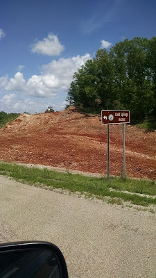 red Arkansas dirt