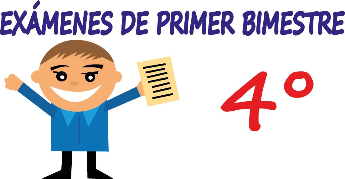 Examen 2016-2017: Primer Bimestre-Cuarto Grado - Planeaciones para ...