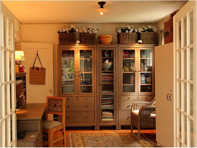 ikea  9 hemnes  1living room  bookcase cabinet