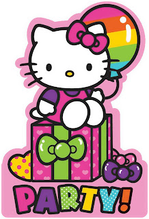 Hello Kitty Rainbow Theme