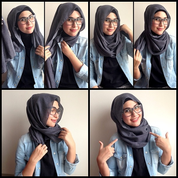 Hijab Simple Casual