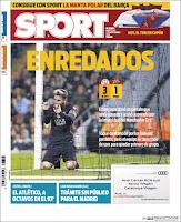 Portada Sport 1 noviembre 2016