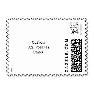 DIY Custom USPS Postcard Photo Postage Stamp