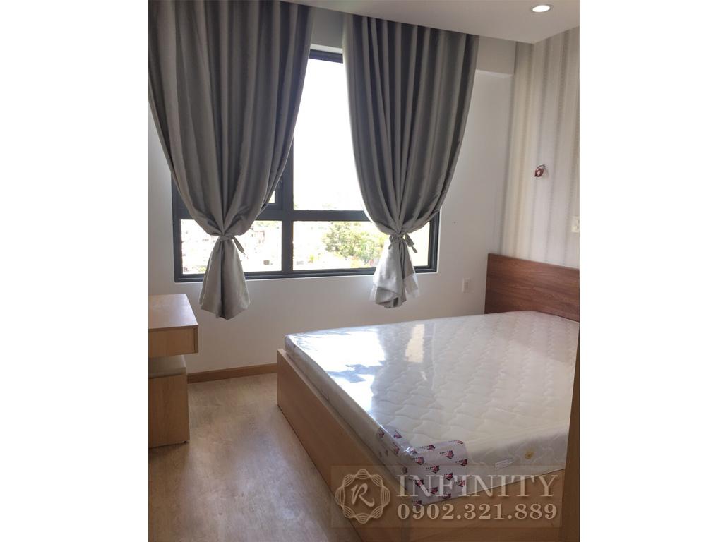 Bán căn hộ Everrich Quận 5 nội thất bao đẹp diện tích 80m2 - cửa sổ phòng ngủ