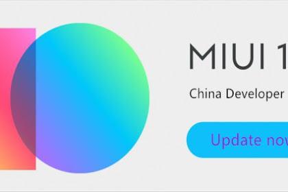 Cara Install MIUI 10 China Alpha Beta Xiaomi Redmi 5 Plus & Redmi 5