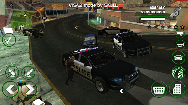 Grand theft auto: san andreas game mod real cars 2 v. 1. 1.