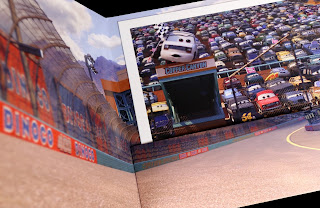 Cars 3 Disney Store Exclusive Lithograph Set blu-ray