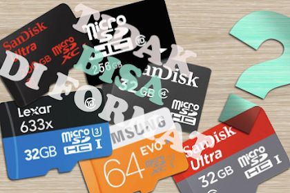 3 Cara Mengatasi MicroSD Tidak Bisa Diformat, 100% Sukses!!!